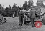 Image of German POW explains artillery to American soldier France, 1944, second 5 stock footage video 65675038185