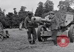 Image of German POW explains artillery to American soldier France, 1944, second 6 stock footage video 65675038185