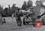 Image of German POW explains artillery to American soldier France, 1944, second 7 stock footage video 65675038185