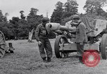 Image of German POW explains artillery to American soldier France, 1944, second 8 stock footage video 65675038185
