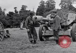Image of German POW explains artillery to American soldier France, 1944, second 9 stock footage video 65675038185