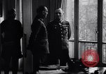 Image of Von Rundstedt and Rommel tour Atlantic Wall France, 1944, second 3 stock footage video 65675038198