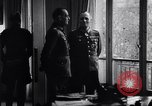 Image of Von Rundstedt and Rommel tour Atlantic Wall France, 1944, second 5 stock footage video 65675038198