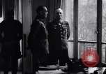 Image of Von Rundstedt and Rommel tour Atlantic Wall France, 1944, second 6 stock footage video 65675038198