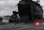Image of American ship Normandy France, 1944, second 12 stock footage video 65675038217