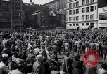 Image of New York Communist Party protest march New York City USA, 1950, second 2 stock footage video 65675038226