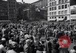 Image of New York Communist Party protest march New York City USA, 1950, second 3 stock footage video 65675038226