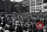 Image of New York Communist Party protest march New York City USA, 1950, second 4 stock footage video 65675038226