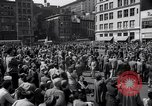 Image of New York Communist Party protest march New York City USA, 1950, second 5 stock footage video 65675038226