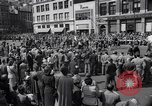 Image of New York Communist Party protest march New York City USA, 1950, second 7 stock footage video 65675038226
