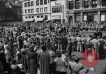 Image of New York Communist Party protest march New York City USA, 1950, second 8 stock footage video 65675038226
