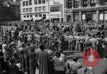 Image of New York Communist Party protest march New York City USA, 1950, second 9 stock footage video 65675038226