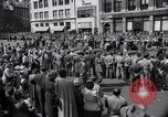 Image of New York Communist Party protest march New York City USA, 1950, second 10 stock footage video 65675038226