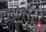Image of New York Communist Party protest march New York City USA, 1950, second 11 stock footage video 65675038226