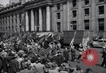 Image of Communist party of New York protestors march New York City USA, 1950, second 3 stock footage video 65675038227