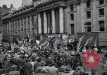 Image of Communist party of New York protestors march New York City USA, 1950, second 6 stock footage video 65675038227