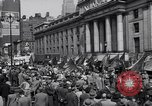 Image of Communist party of New York protestors march New York City USA, 1950, second 9 stock footage video 65675038227
