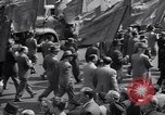 Image of Communist party of New York protestors march New York City USA, 1950, second 10 stock footage video 65675038227