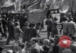 Image of Communist party of New York protestors march New York City USA, 1950, second 12 stock footage video 65675038227