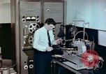 Image of Steps in production of a vinyl phonograph record Indianapolis Indiana USA, 1956, second 6 stock footage video 65675038229