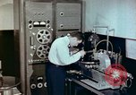 Image of Steps in production of a vinyl phonograph record Indianapolis Indiana USA, 1956, second 7 stock footage video 65675038229