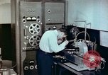 Image of Steps in production of a vinyl phonograph record Indianapolis Indiana USA, 1956, second 9 stock footage video 65675038229