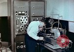 Image of Steps in production of a vinyl phonograph record Indianapolis Indiana USA, 1956, second 10 stock footage video 65675038229