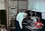 Image of Steps in production of a vinyl phonograph record Indianapolis Indiana USA, 1956, second 11 stock footage video 65675038229