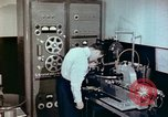 Image of Steps in production of a vinyl phonograph record Indianapolis Indiana USA, 1956, second 12 stock footage video 65675038229
