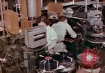 Image of production and packaging of vinyl phonograph records United States USA, 1956, second 4 stock footage video 65675038230