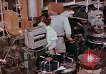 Image of production and packaging of vinyl phonograph records United States USA, 1956, second 5 stock footage video 65675038230