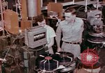 Image of production and packaging of vinyl phonograph records United States USA, 1956, second 7 stock footage video 65675038230