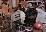 Image of production and packaging of vinyl phonograph records United States USA, 1956, second 9 stock footage video 65675038230