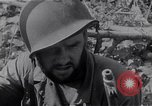 Image of American infantrymen Bougainville Island Papua New Guinea, 1944, second 3 stock footage video 65675038248