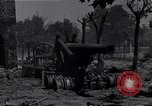 Image of Knocked out U.S. 8-inch howitzer  Buonconvento Italy, 1944, second 2 stock footage video 65675038254