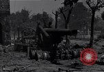Image of Knocked out U.S. 8-inch howitzer  Buonconvento Italy, 1944, second 4 stock footage video 65675038254