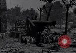 Image of Knocked out U.S. 8-inch howitzer  Buonconvento Italy, 1944, second 5 stock footage video 65675038254