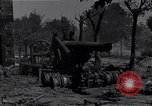 Image of Knocked out U.S. 8-inch howitzer  Buonconvento Italy, 1944, second 6 stock footage video 65675038254