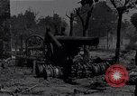 Image of Knocked out U.S. 8-inch howitzer  Buonconvento Italy, 1944, second 9 stock footage video 65675038254