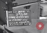 Image of M-4 tank Normandy France, 1944, second 2 stock footage video 65675038271