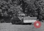 Image of M-4 tank Normandy France, 1944, second 9 stock footage video 65675038271