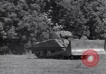 Image of M-4 tank Normandy France, 1944, second 10 stock footage video 65675038271