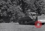 Image of M-4 tank Normandy France, 1944, second 11 stock footage video 65675038271