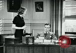 Image of telephone habits United States USA, 1940, second 7 stock footage video 65675038315