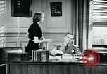 Image of telephone habits United States USA, 1940, second 8 stock footage video 65675038315