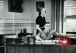 Image of telephone habits United States USA, 1940, second 9 stock footage video 65675038315