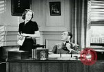 Image of telephone habits United States USA, 1940, second 11 stock footage video 65675038315