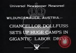 Image of Chancellor Dollfuss Wildungsmauer Austria, 1933, second 2 stock footage video 65675038325
