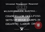 Image of Chancellor Dollfuss Wildungsmauer Austria, 1933, second 3 stock footage video 65675038325