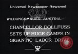Image of Chancellor Dollfuss Wildungsmauer Austria, 1933, second 4 stock footage video 65675038325